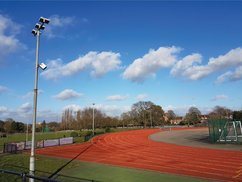 Athletics Track Lighting Design