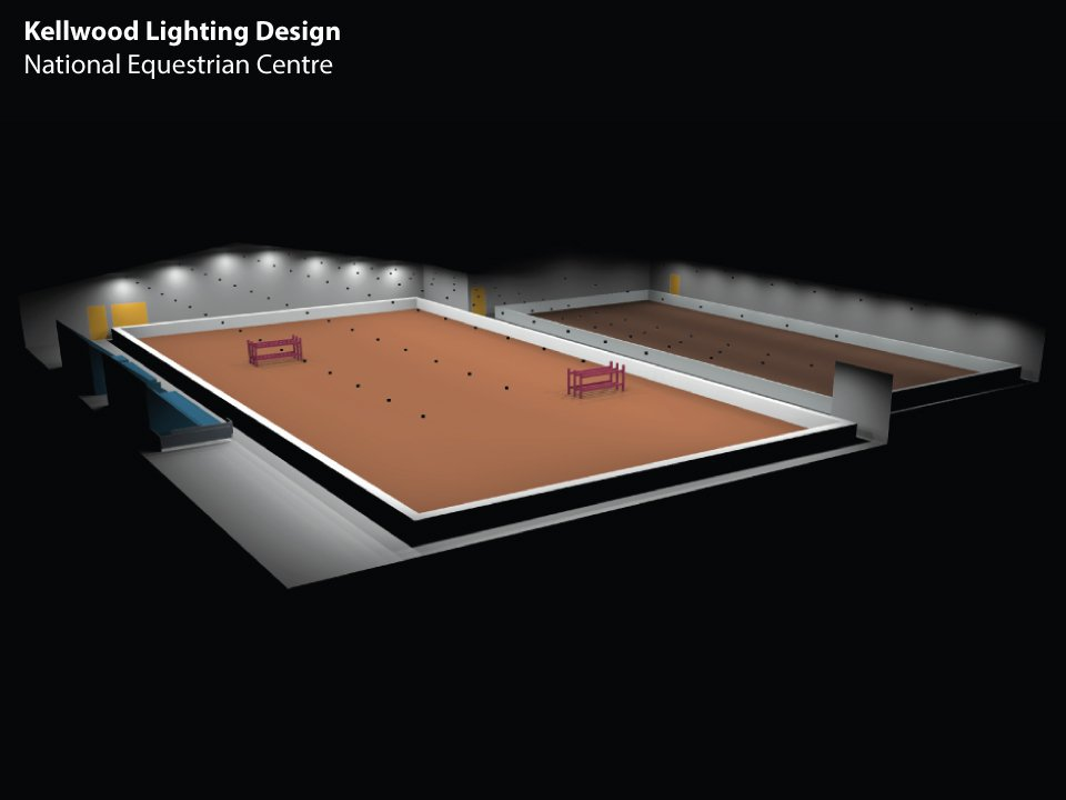 Lighting Design for Indoor Equestrian Arena