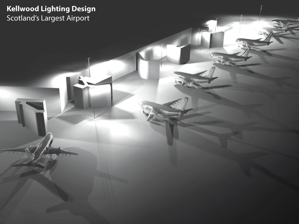 Airport Apron Lighting Design